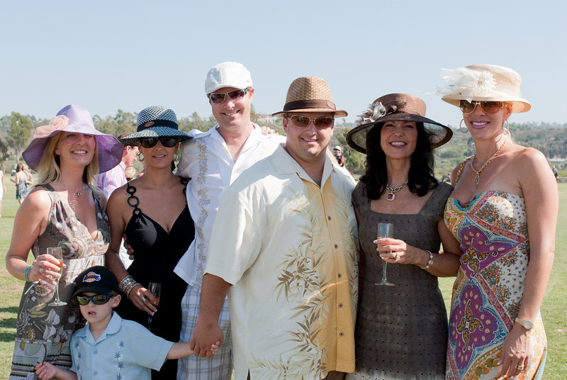 2009, Polo, Hat Day, Rossmore Cup-183