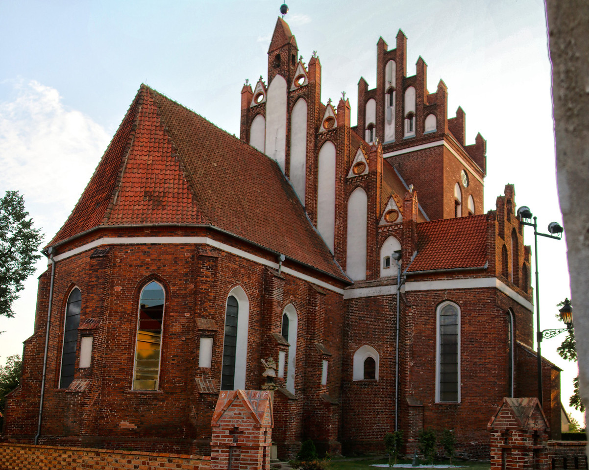 Church of Sts. Nicholas in Gniew / Kościół św. Mikołaja w Gniewie