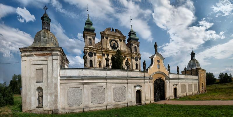 Sanctuary of Our Lady of the Visitation of the Blessed Virgin Mary and St.. Joseph in Krosno / Sanktuarium Nawiedzenia NMP i św. Józefa w Krośnie koło Ornety