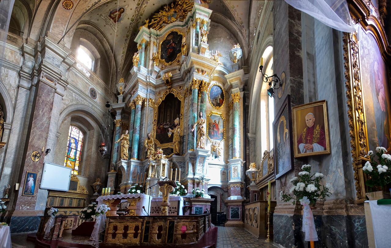Baroque Church of the Savior in Głotowo / Kościół barokowy pw. Zbawiciela w Głotowie