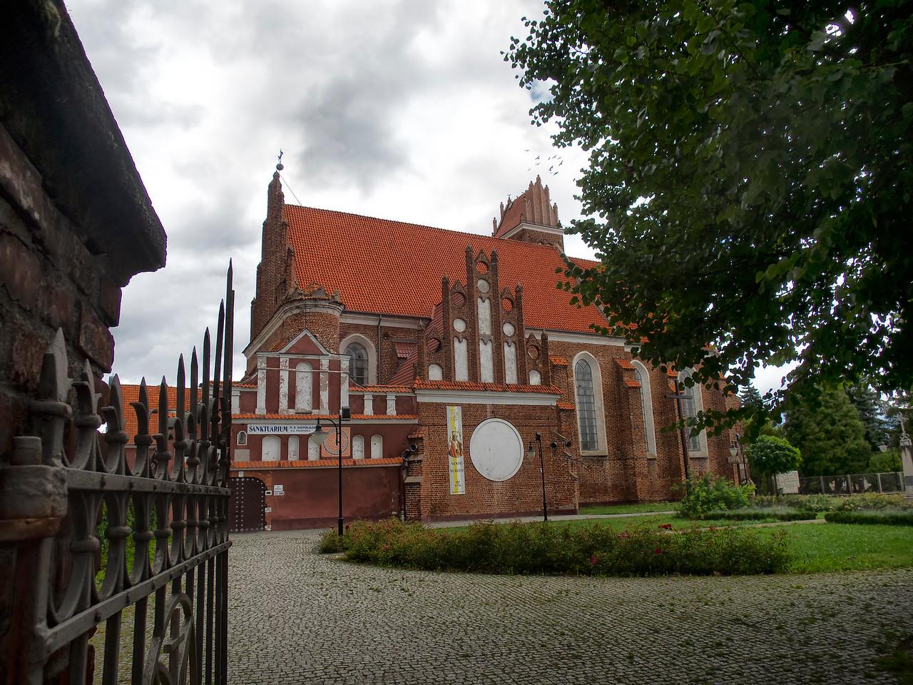 Shrine of the Immaculate Mother of  God in Przasnysz, Poland / Sanktuarium M. B. Niepokalanej Przewodniczki w Przasnyszu, Polska