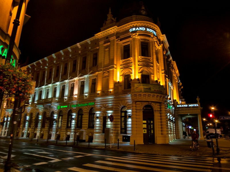 Grand Hotel. Lublin, Polska