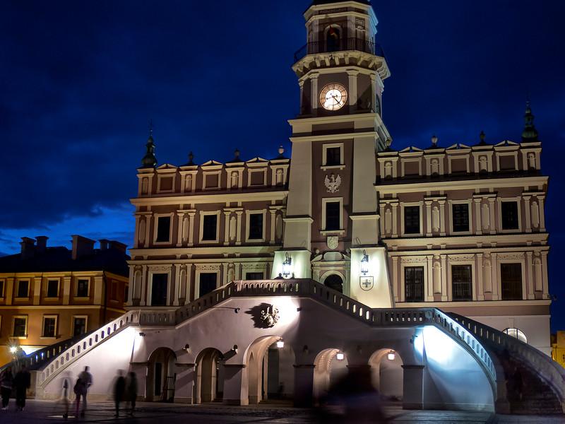 City Hall , Zamość, Polska / Ratusz ,  Zamość, Polska