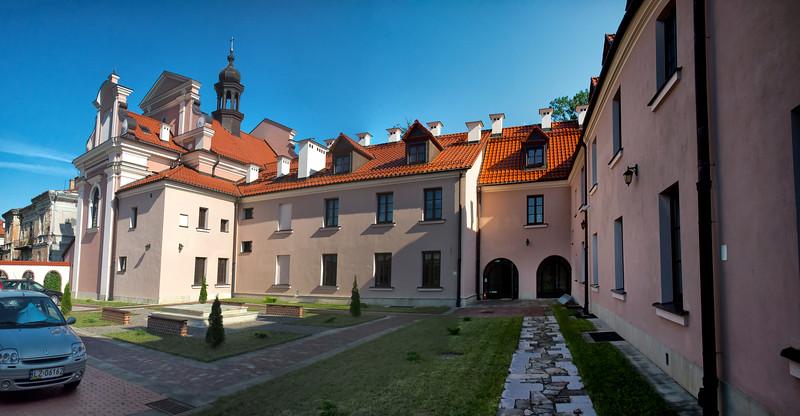 The former church and convent of the Poor Clares in Zamość, Polska / Dawny kościół i Klasztor klarysek w Zamościu, Polska
