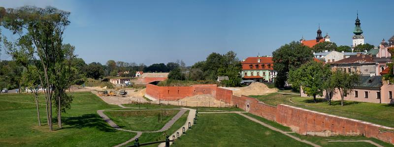 Former Strzebrzeszyn Gate Zamość, Polska / Dawna Brama Strzebrzeszynska, Zamość, Polska