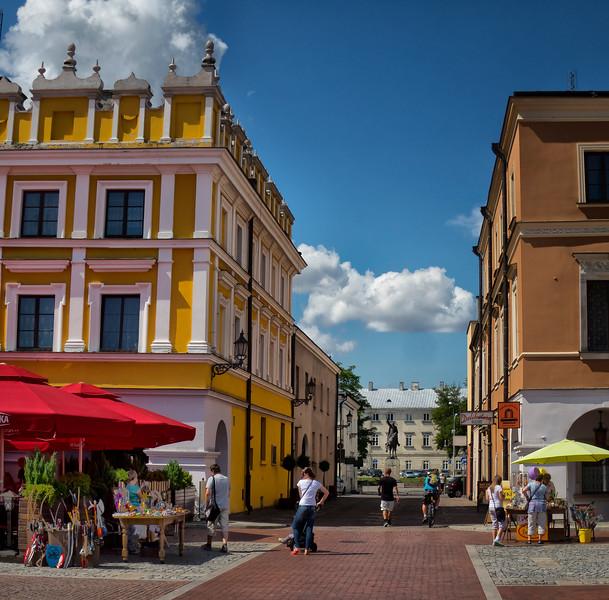 "The Zamoyski Palace, ""Central Home"", Zamość, Polska / Pałac Zamoyskich, Zamość, Polska"