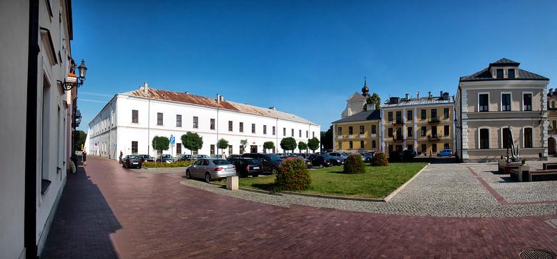 Salt Market and Academy of  Zamość, Polska / Akademia Zamojska i Rynek Solny  w Zamościu, Polska