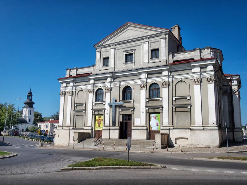 Church of the Annunciation to the Blessed Virgin Mary, Franciscan Church,  Zamość, Polska / Kościół Zwiastowania Najświętszej Maryi Panny (Franciszkanow)  w Zamościu, Polska