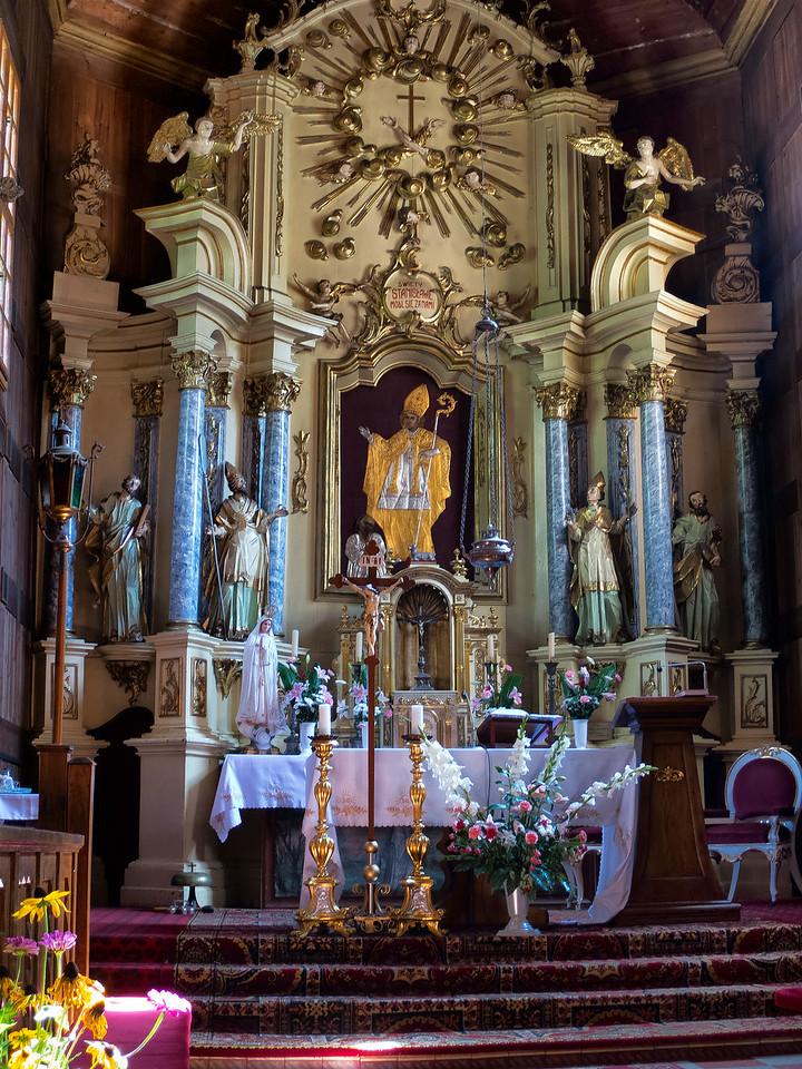 Church of St.. Stanislaus Bishop and Martyr in Górecko Koscielne, Polska/ Kościół św. Stanisława Biskupa Męczennika w Górecku Kościelnym, Polska