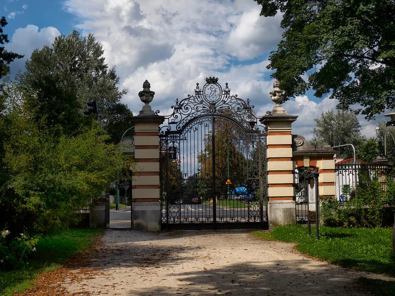 Park Gate at Łańcut Castle in Łańcut, Poland / Brama Parkowa przy Zamek w Łańcucie, Polska