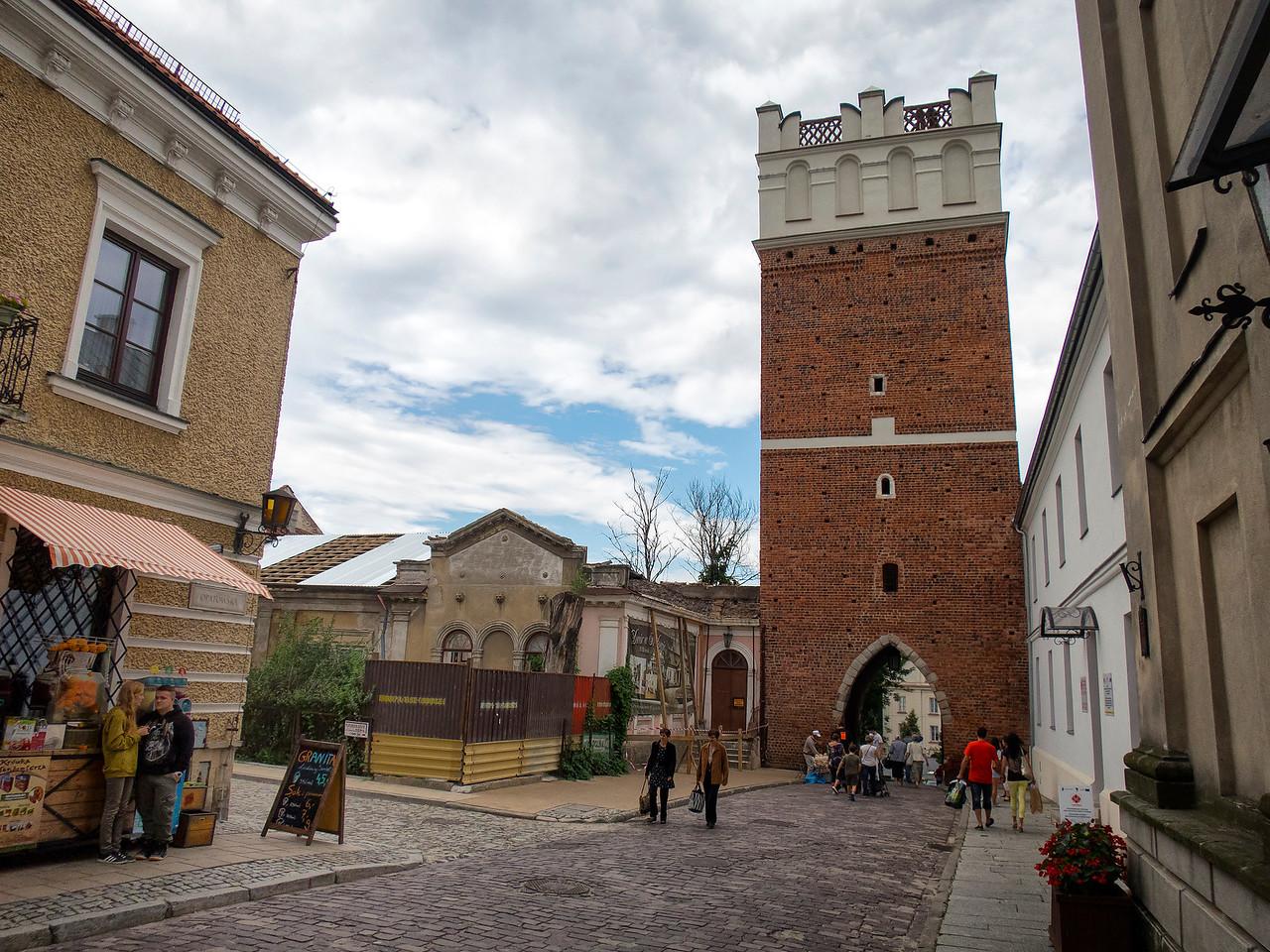 The Opatowska Gate, Sandomierz, Poland / Brama Opatowska, Sandomierz, Polska
