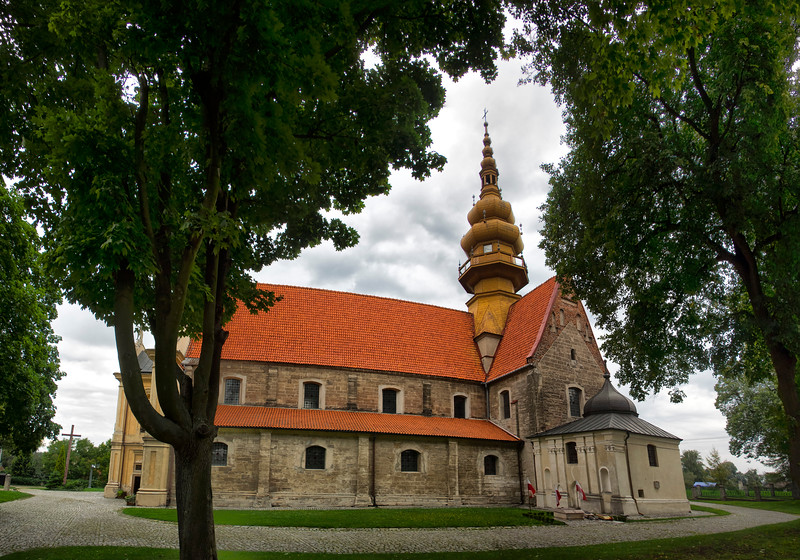 Cistercian Monastery with the Church of St Mary and St. Florian in Koprzywnica, Polska / Zespół pocysterski z kościołem pw Najświętszej Marii Panny i św. Floriana w Koprzywnicy, Polska