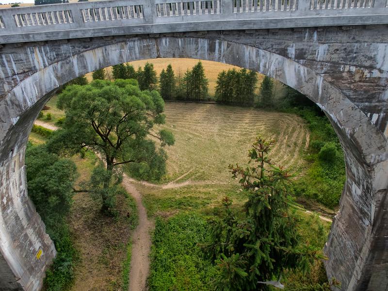Old Bridges in Stańczyki - Aqueducts Romincka Forest, Polska / Zabytkowe Mosty w Stańczykach - Akwedukty Puszczy Romnickiej, Polska