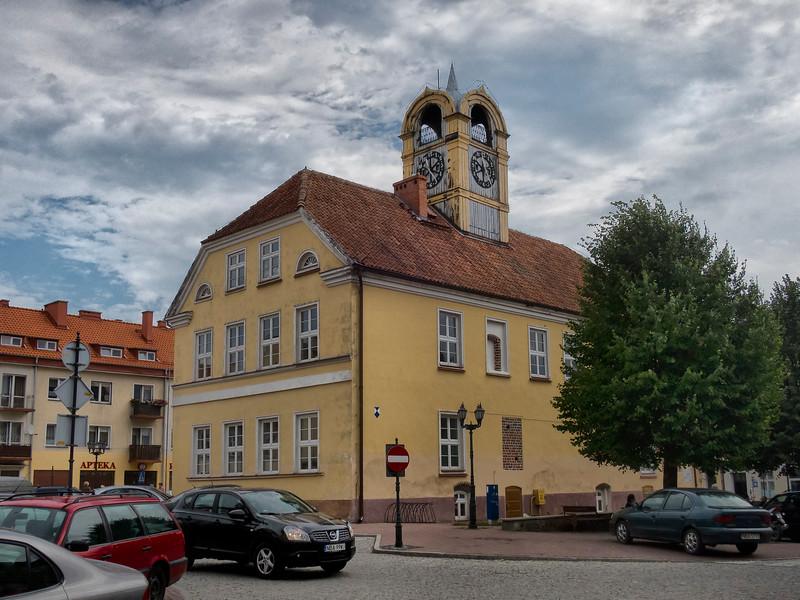 City Hall, Orneta, Polska / Ratusz, Orneta, Polska