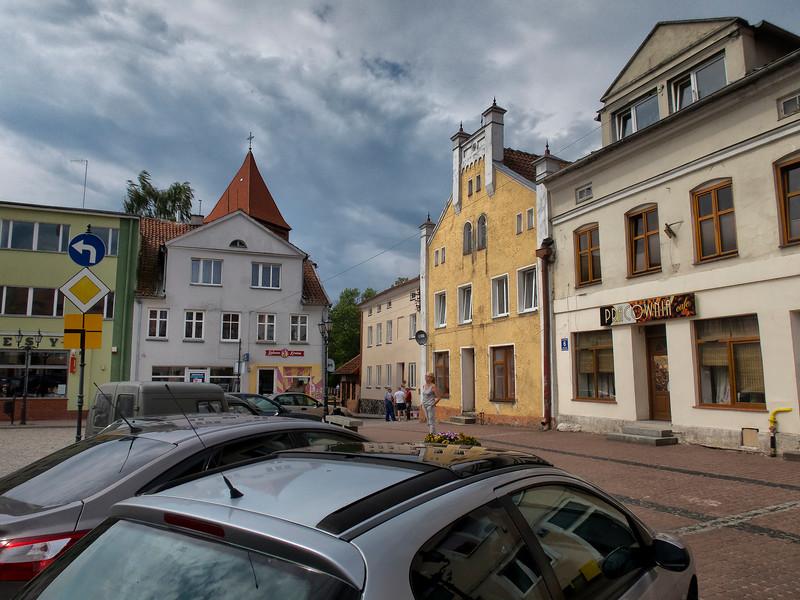 Main Market Square, Orneta, Polska / Rynek, Orneta, Polska