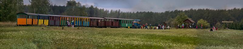 Wigry narrow-gauge railway, Płociczno, Polska / Wigierska Kolejka Wąskotorowa, Płociczno, Polska