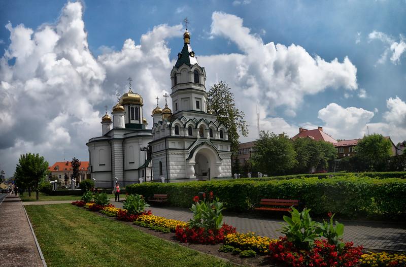 Orthodox church of St. Nicholas. Alexander Nevsky in Sokółka, Polska / Cerkiew św. Aleksandra Newskiego w Sokółce, Polska