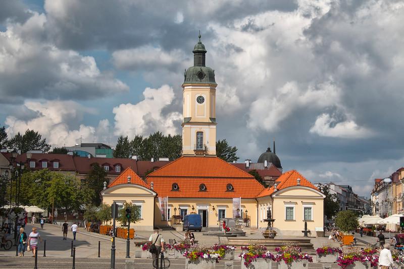 City Hall in Bialystok, Polska / Ratusz w Białymstoku, Polska