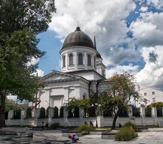 The Cathedral of St. Nicholas the Wonderworker Archbishop of Myria in Lycia, Białystok, Polska / Sobór św. Mikołaja w Białymstoku, Polska