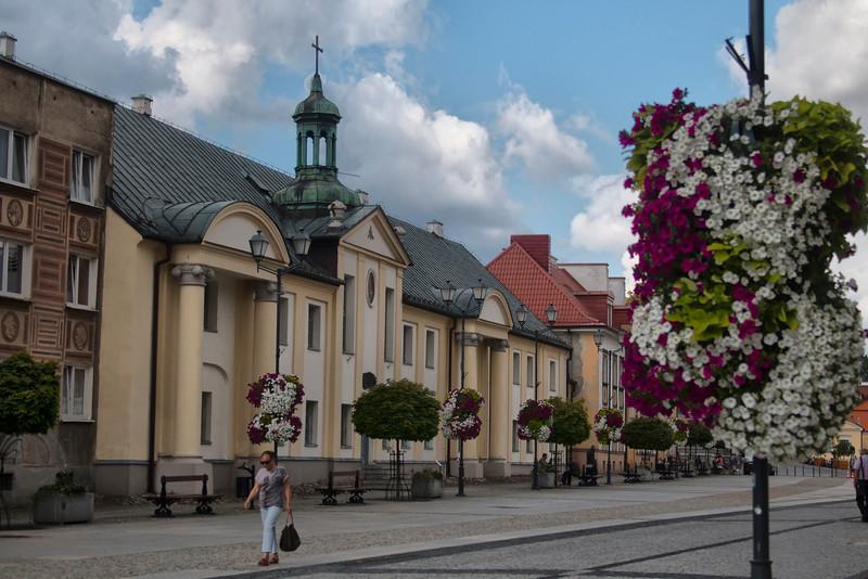 Main Kosciuszko Market Square in Bialystok, Polska / Rynek Kościuszki w Białymstoku, Polska
