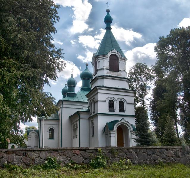 Orthodox Church of the Ascension in Nowoberezowo, Polska / Cerkiew Wniebowstąpienia Pańskiego w Nowoberezowie, Polska