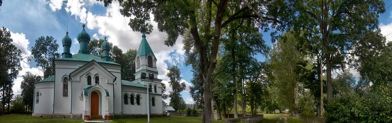 Orthodox Church of the Ascension in Nowoberezowo, Polska / Cerkiew Wniebowstąpienia Pańskiego w Nowoberezowie, Polska\