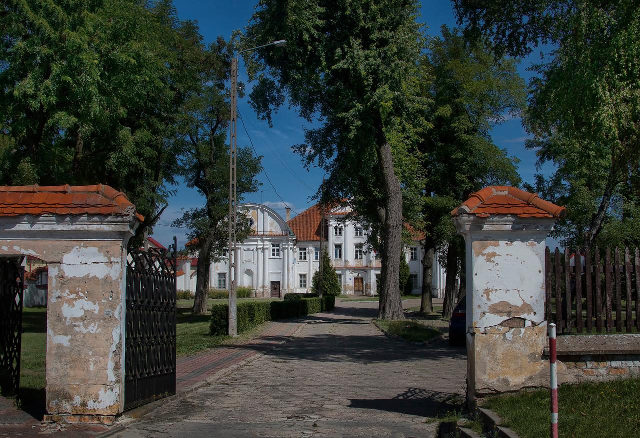 The former missionaries monastery in Siemiatycze, Polska / Dawny zespół klasztorny misjonarzy w Siemiatyczach, Polska