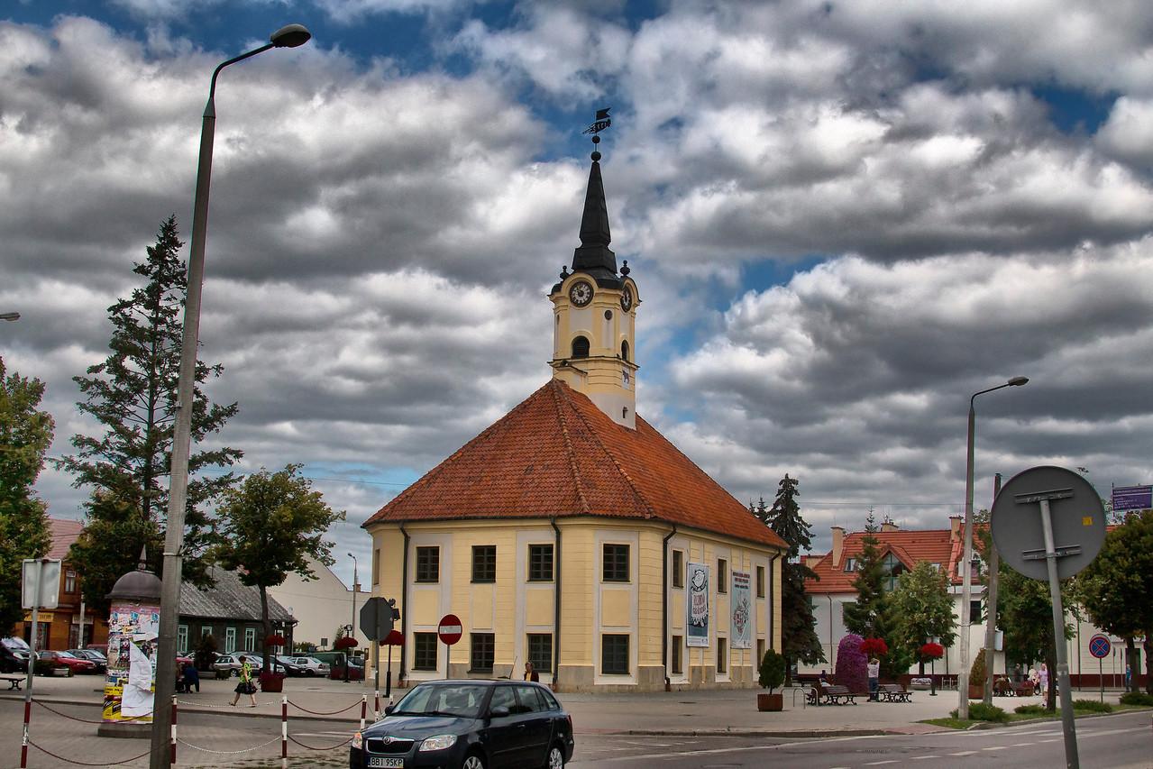 City Hall in Bielsk Podlaski, Polska / Ratusz w Bielsku Podlaskim, Polska