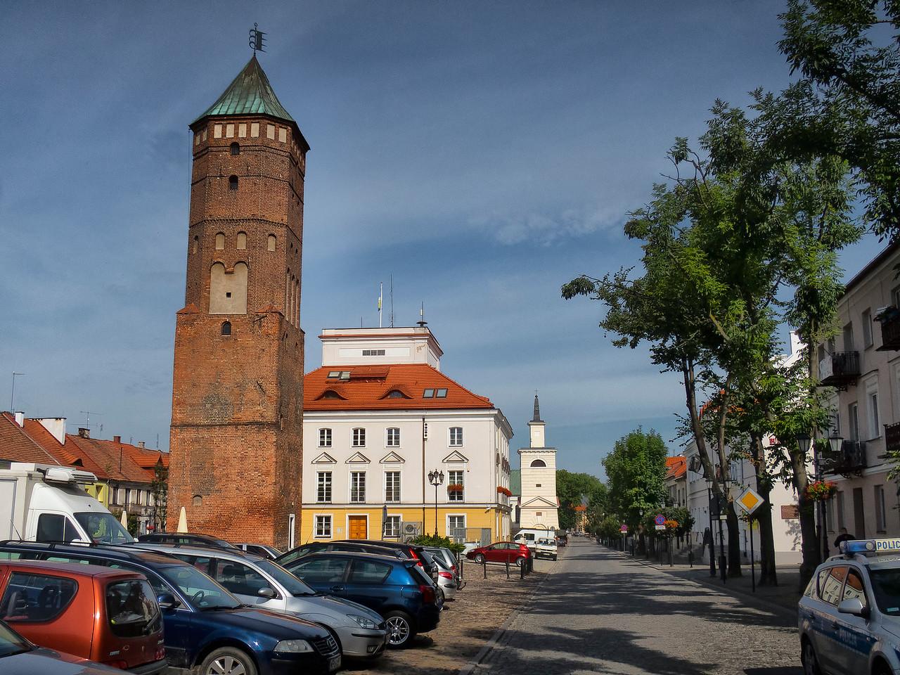 City Hall in Pułtusk, Polska / Ratusz w Pułtusku, Polska