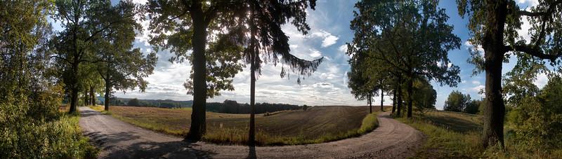 Masurian Canal Vicinity, Field Road, Polska / Okolice Kanału Mazurskiego, droga polna, Polska