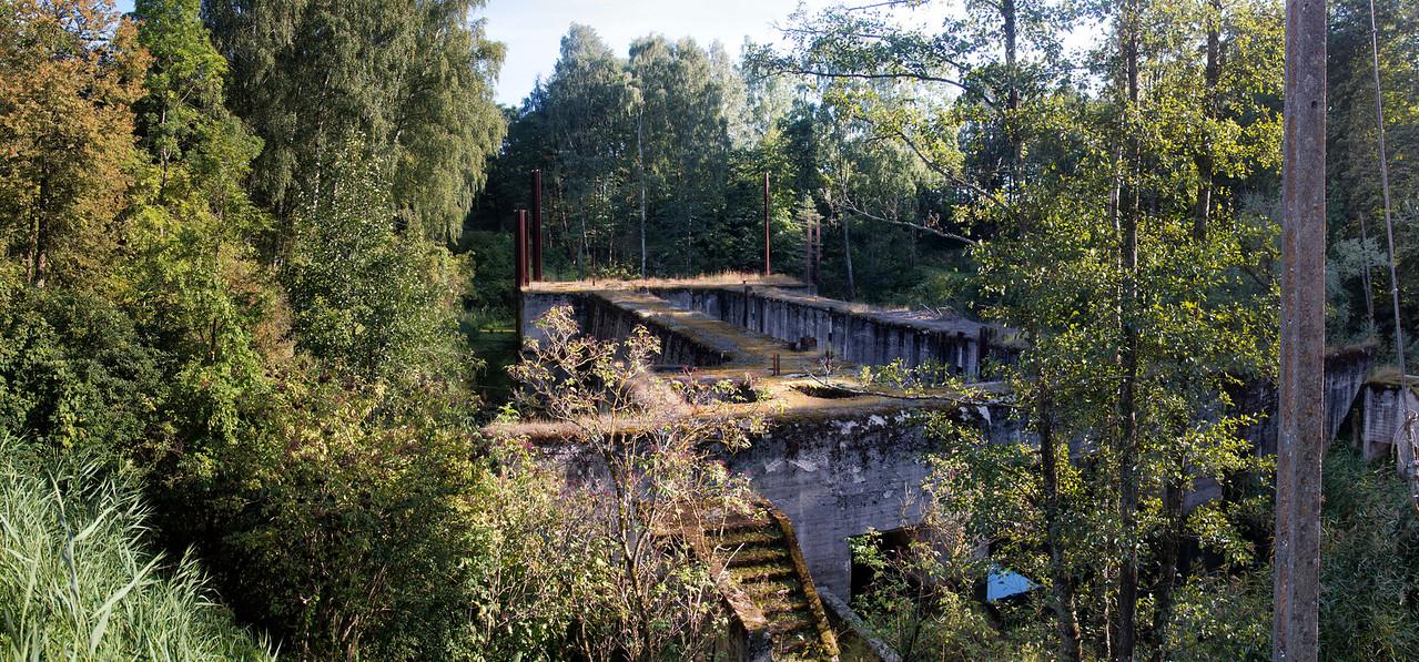 Masurian Canal, Leśniewo Dolne Lock, Polska / Kanał Mazurski, Śluza Leśniewo Dolne, Polska