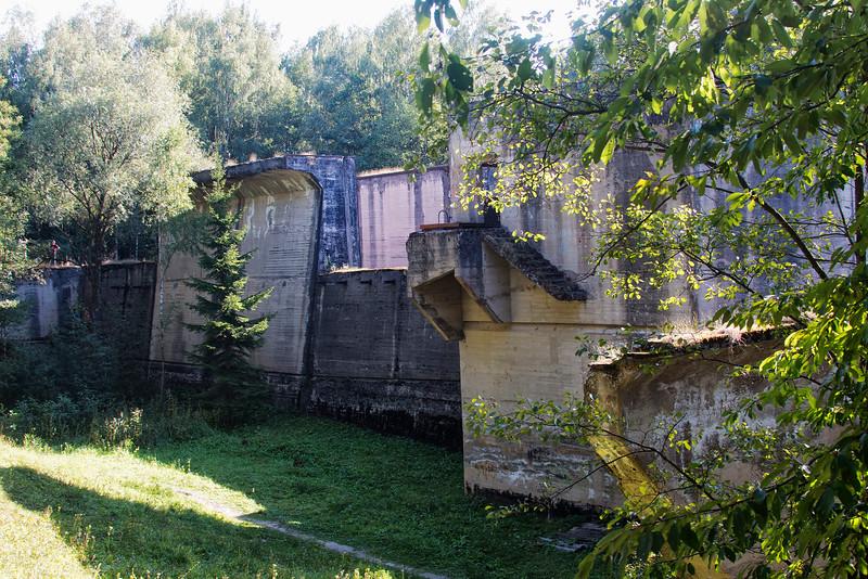 Masurian Canal, Leśniewo Górne Lock, Polska / Kanał Mazurski, Śluza Leśniewo Górne, Polska