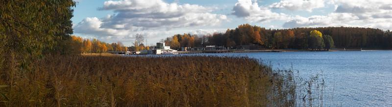 Plaza miejska, Jezioro Ukiel, Olsztyn, Polska