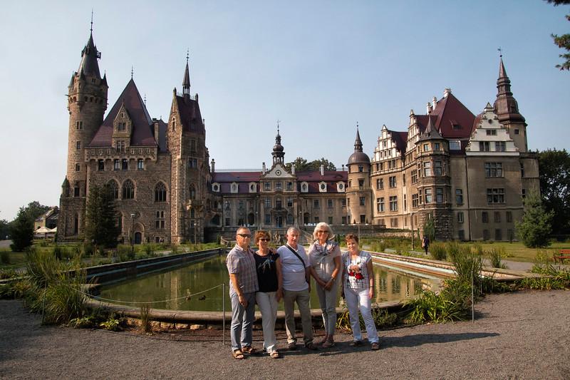 Palace in Moszna, Polska / Pałac w Mosznej, Polska