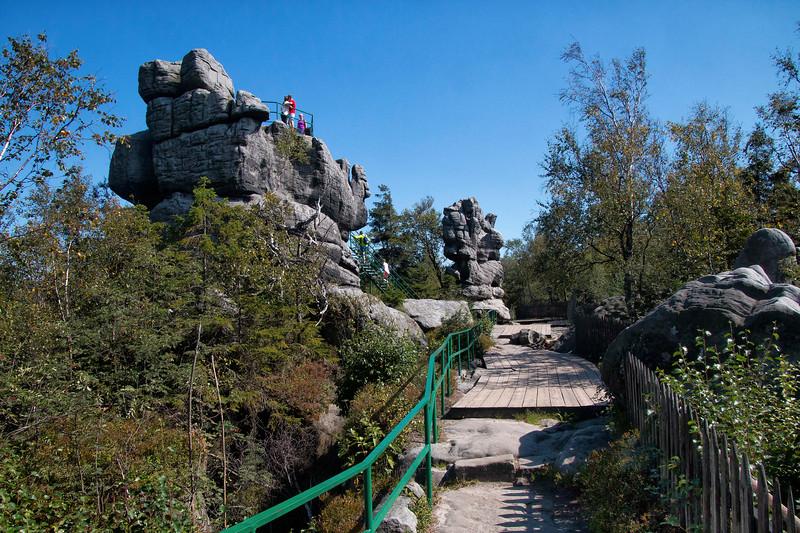 Szczeliniec Wielki in Table Mountains National Park, Polska  / Szczeliniec Wielki w Parku Narodowym Gór Stołowych, Polska