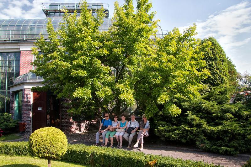 Palm House in Wałbrzych, Polska / Palmiarnia w Wałbrzychu, Wałbrzych, Polska
