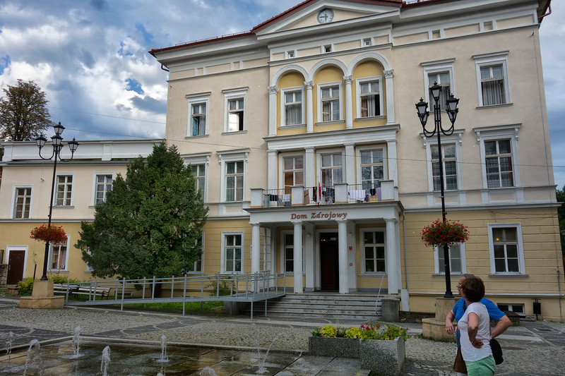Jedlina-Zdrój [jɛdˈlʲina ˈzdrui̯] (German: Bad Charlottenbrunn) is a town in Wałbrzych County, Lower Silesian Voivodeship, in south-western Poland. Prior to 1945 it was in Germany. (For more information about the history of the region, see Silesia.)<br /> <br /> The town lies approximately 8 kilometres (5 mi) south-east of Wałbrzych, and 67 kilometres (42 mi) south-west of the regional capital Wrocław.<br /> <br /> As at 2006, the town has a population of 5,116. From Wikipedia.<br /> <br /> Jedlina-Zdrój (niem. Bad Charlottenbrunn) – miasto uzdrowiskowe w województwie dolnośląskim, w powiecie wałbrzyskim, historycznie na Dolnym Śląsku.<br /> Hotel Jedlinka w Jedlinie-Zdroju<br /> Pałac w Jedlinie-Zdroju, w Jedlince<br /> Hostel i Browar Jedlinka<br /> <br /> W latach 1945-54 siedziba wiejskiej gminy Jedlina Zdrój.<br /> <br /> Według danych z 31 marca 2011 r. miasto miało 5 082 mieszkańców. Za Wikipedia