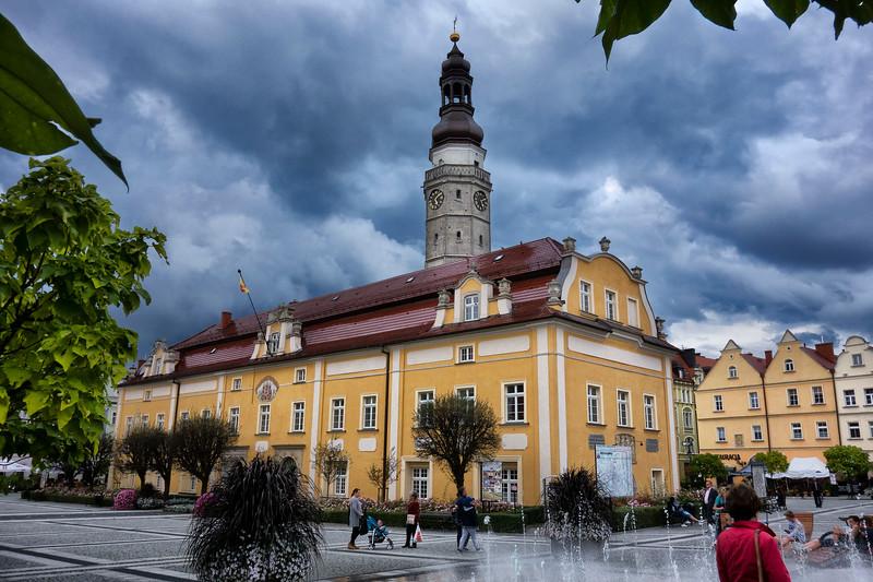 Main Market Square, Old Town, Bolesławiec, Polska / Rynek Starego Miasta, Bolesławiec, Polska