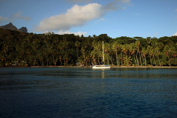 Toopua Island, Bora Bora, Society Islands of French Polynesia