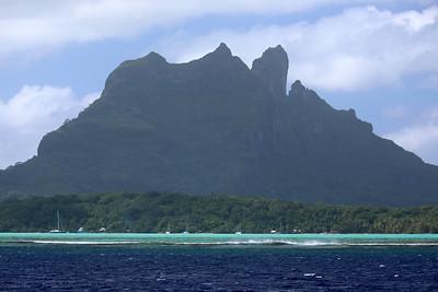 Mount Otemanu, Bora Bora, Society Islands of French Polynesia
