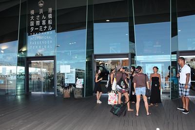 """This is the location of the """"Aloha Yokohama"""" Festival at Ōsanbashi Pier in Yokohama Location of the Aloha Festival"""