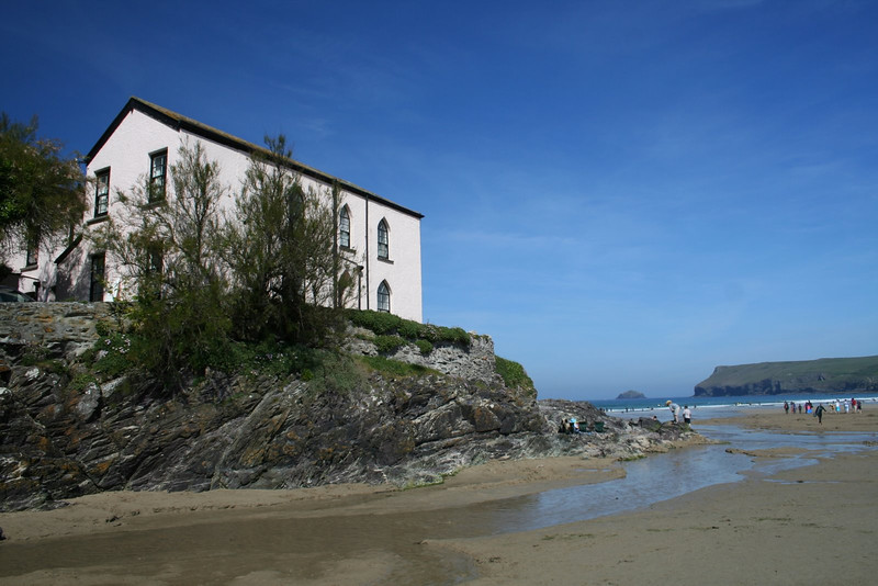 Polzeath House Side Rear