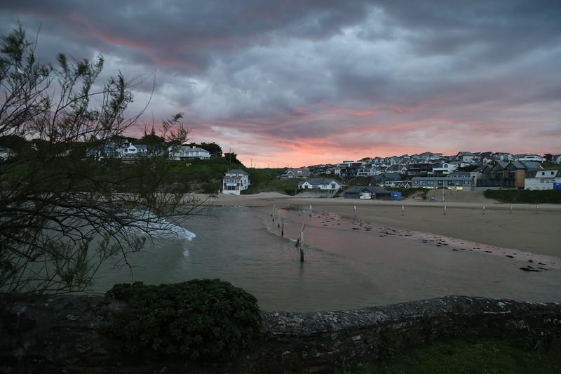 Sunrise over Polzeath 2020
