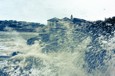 Jan 2014 storms polzeath