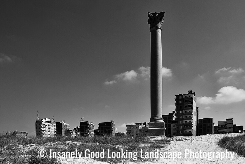 Pompey's Pillar & The Temple of Serapis  - Alexandria, Egypt 2019