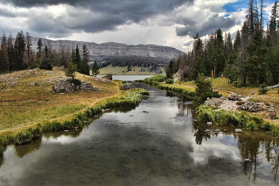 Brooks Lake Outlet, Wyoming