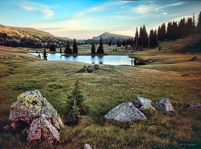 Louden Pond Dreams, Okanogan County, WA