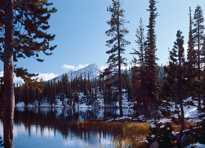 Fall at Mocassin Lake, Wallowa Mts, OR 1969