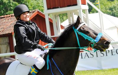 SM Kat D: Son of River och Julia Kunkel | Strömsholm 130616 |  Foto: Stefan Olsson / Svensk Galopp