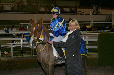 Isabella Engström och Madness efter segern i kat B consolation | Foto: Lars Odin